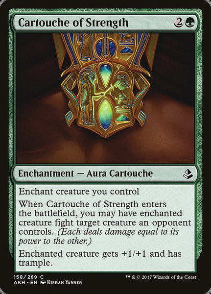 Cartouche of Strength [AKH][Foil]