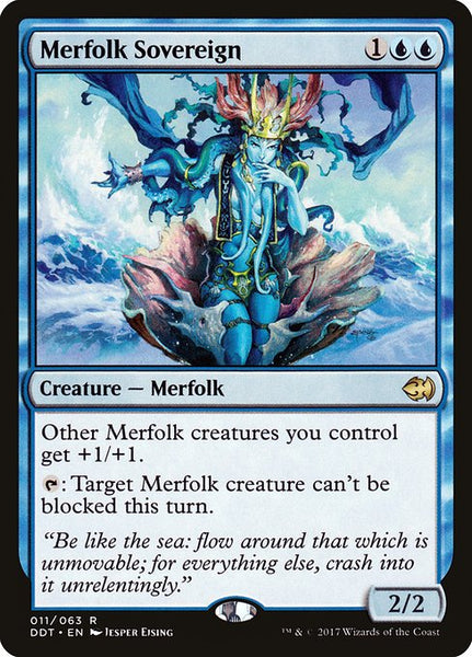 Merfolk Sovereign [DDT]