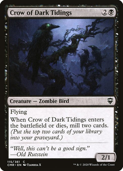 Crow of Dark Tidings [CMR]