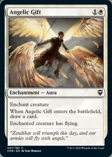 Angelic Gift [CMR][Foil]