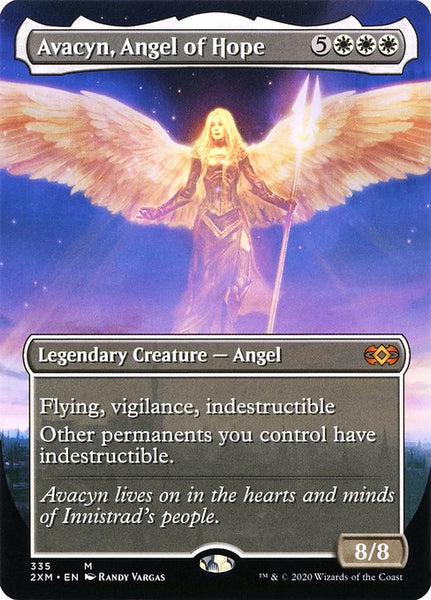 Avacyn, Angel of Hope [2XM][Foil][Borderless]