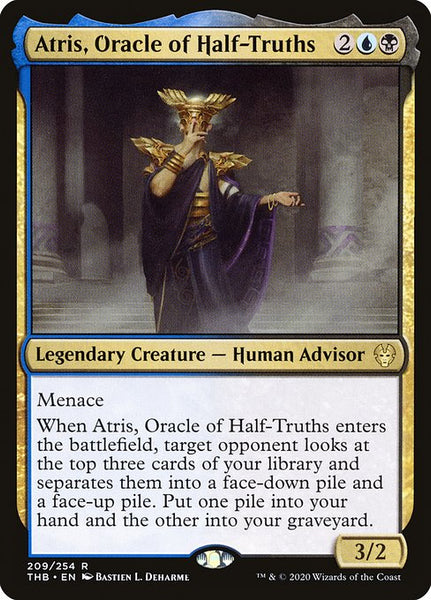 Atris, Oracle of Half-Truths [THB][Foil]