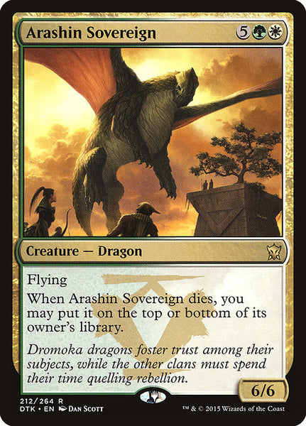 Arashin Sovereign [DTK]