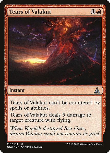 Tears of Valakut [OGW]