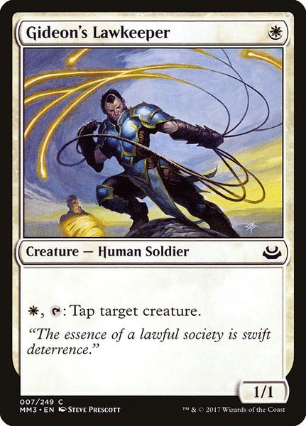 Gideon's Lawkeeper [MM3]