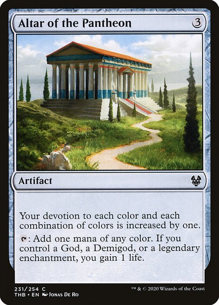 Altar of the Pantheon [THB][Foil]
