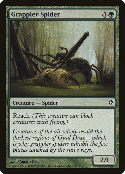 Grappler Spider [WWK][Foil]
