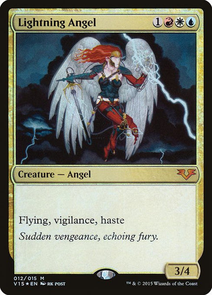 Lightning Angel [V15][Foil]
