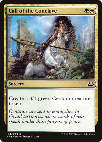 Call of the Conclave [MM3][Foil]