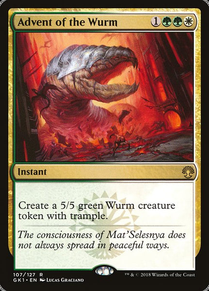 Advent of the Wurm [GK1]