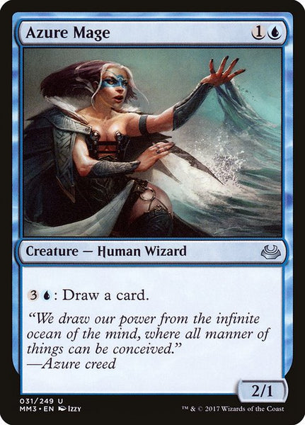 Azure Mage [MM3][Foil]