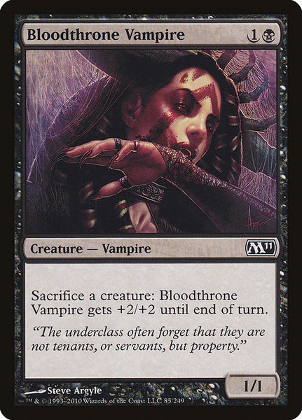 Bloodthrone Vampire [M11]
