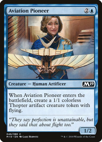 Aviation Pioneer [M19][Foil]
