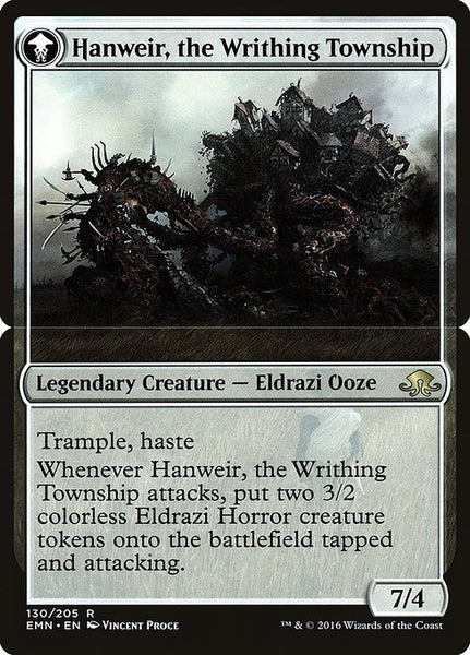 Hanweir, the Writhing Township [PEMN][Foil]
