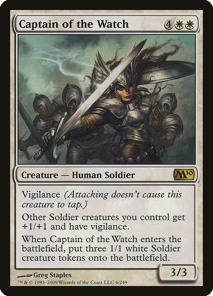 Captain of the Watch [M10][Foil]