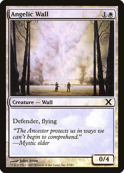 Angelic Wall [10E][Foil]