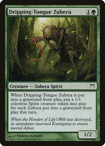 Dripping-Tongue Zubera [CHK][Foil]