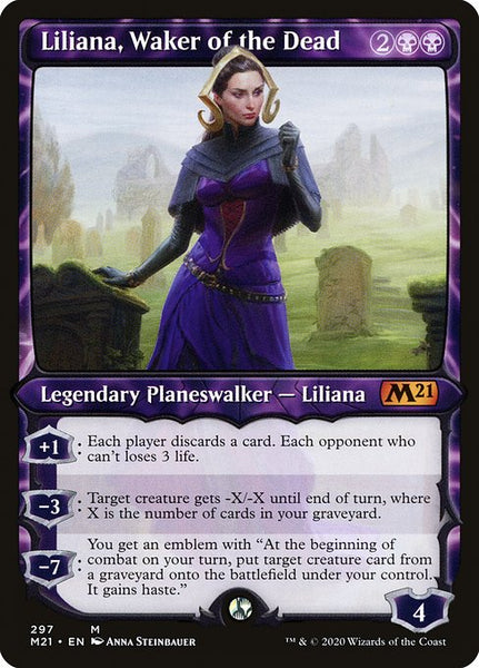 Liliana, Waker of the Dead [M21] [Showcase]