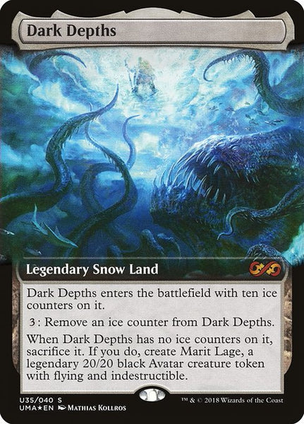 Dark Depths [PUMA][Foil][Extended Art]