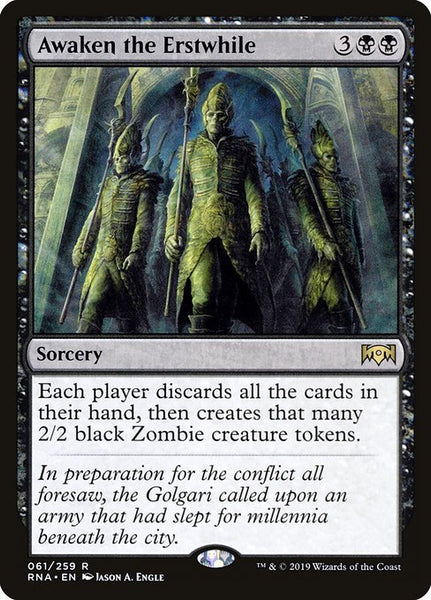 Awaken the Erstwhile [RNA][Foil]