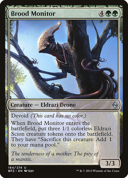 Brood Monitor [BFZ][Foil]