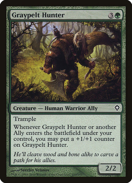 Graypelt Hunter [WWK][Foil]