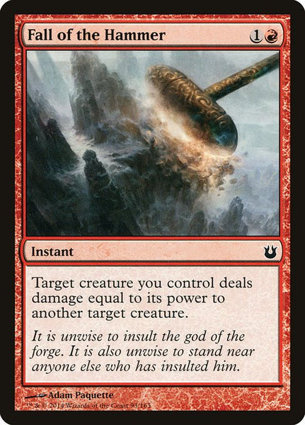 Fall of the Hammer [BNG][Foil]