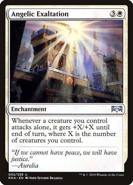 Angelic Exaltation [RNA][Foil]