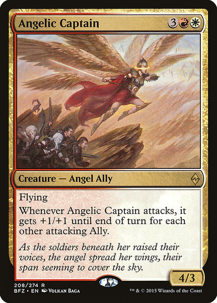 Angelic Captain [BFZ][Foil]