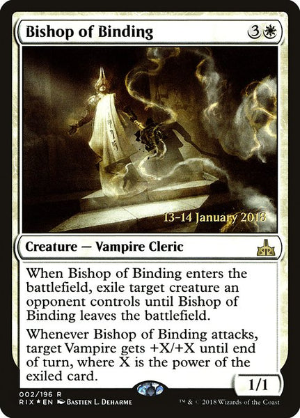 Bishop of Binding [PRIX][Foil]