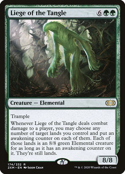 Liege of the Tangle [2XM][Foil]