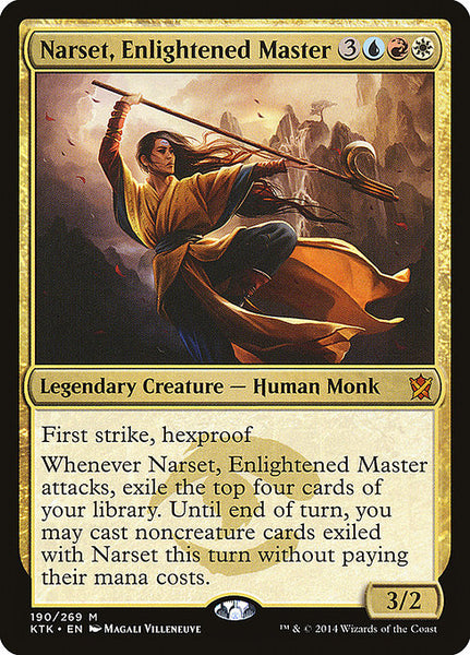 Narset, Enlightened Master [KTK]