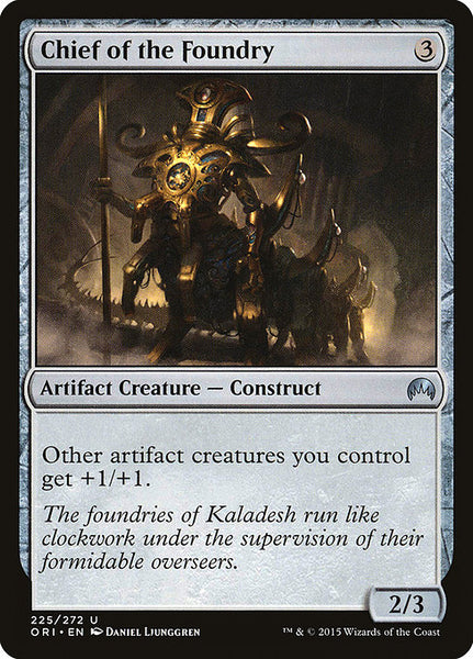 Chief of the Foundry [ORI][Foil]