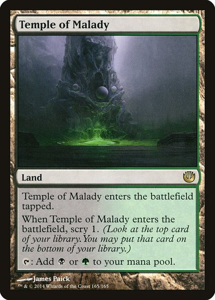 Temple of Malady [JOU]