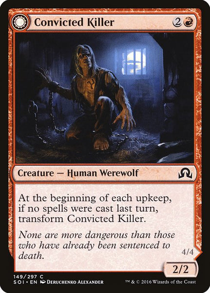 Convicted Killer // Branded Howler [SOI][Foil]