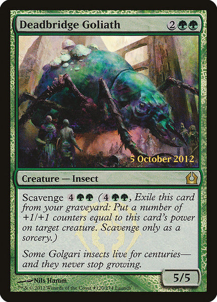 Deadbridge Goliath [PRTR][Foil]