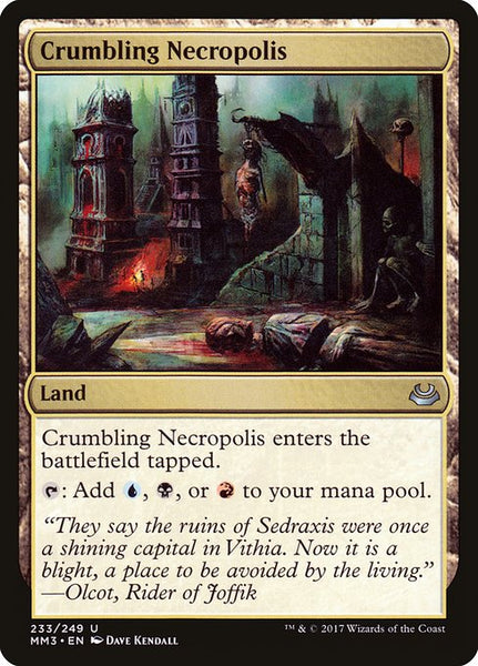 Crumbling Necropolis [MM3][Foil]