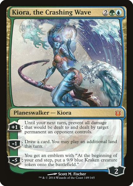 Kiora, the Crashing Wave [BNG]