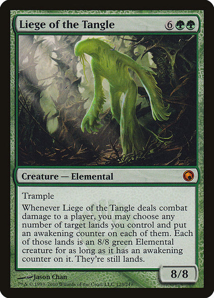 Liege of the Tangle [SOM]