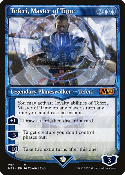 Teferi, Master of Time [M21][290] [Showcase]