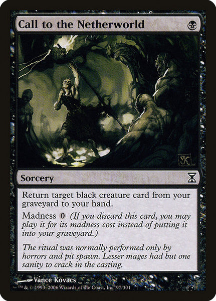 Call to the Netherworld [TSP][Foil]