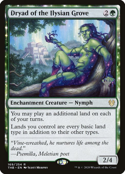 Dryad of the Ilysian Grove [PTHB][Foil]