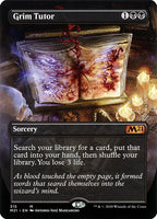 Grim Tutor [M21][Foil][Borderless]