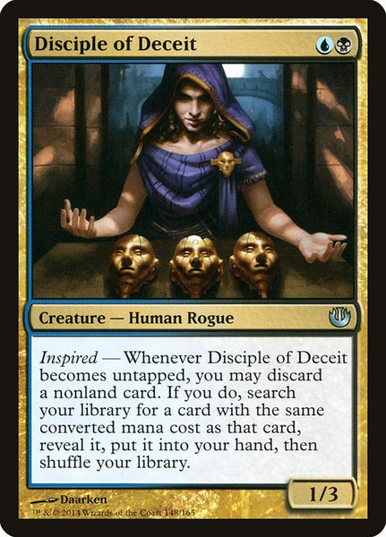Disciple of Deceit [JOU][Foil]