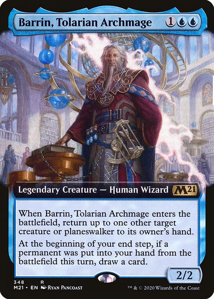 Barrin, Tolarian Archmage [M21][Foil][Extended Art]