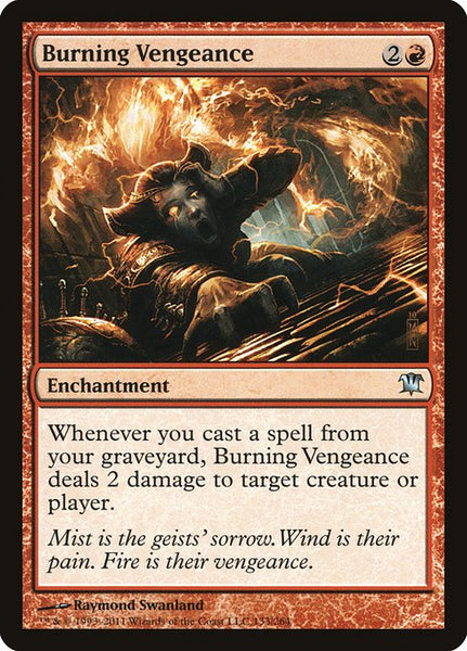 Burning Vengeance [ISD][Foil]