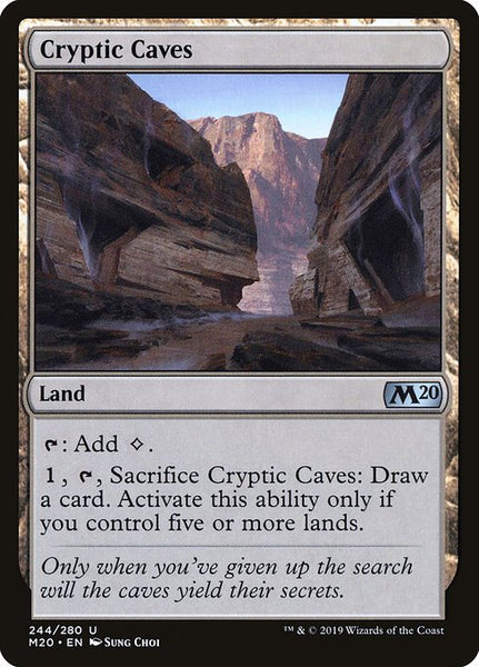 Cryptic Caves [M20]