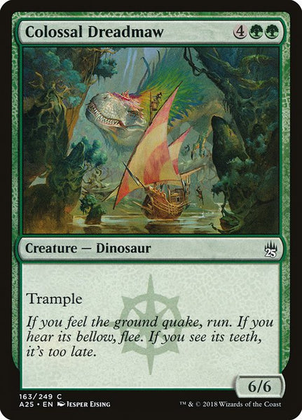 Colossal Dreadmaw [A25][Foil]