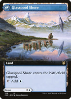 Glasspool Mimic // Glasspool Shore [ZNR][Extended Art]