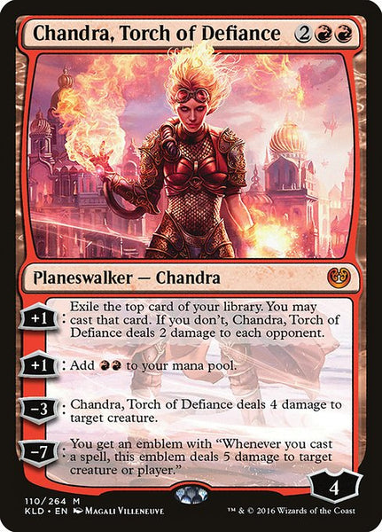 Chandra, Torch of Defiance [KLD]